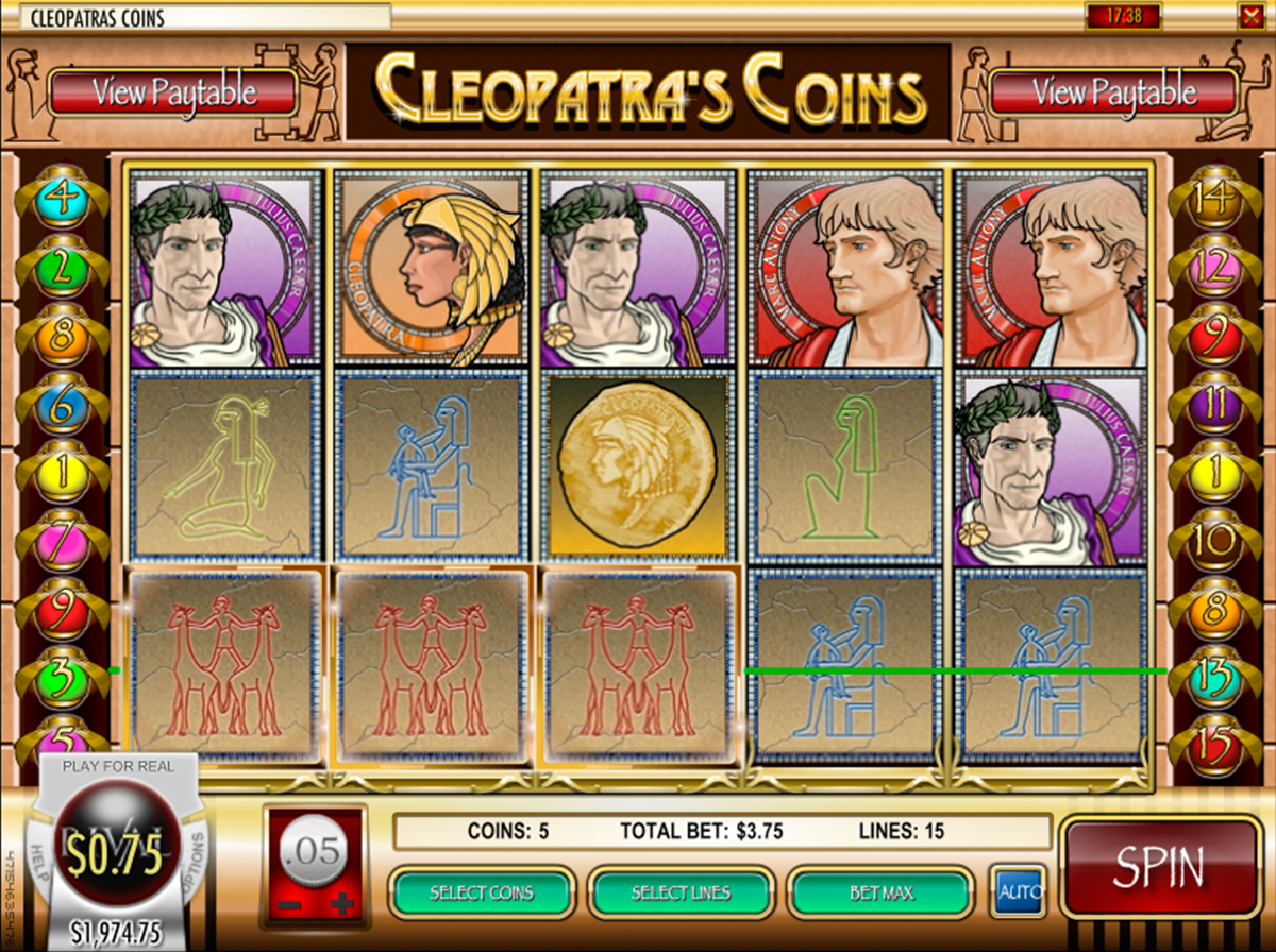 cleopatras coins rival