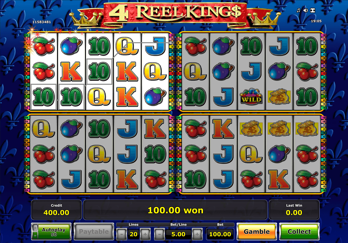 4 reel kings novomatic online spielen