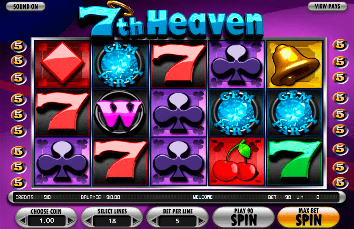 7th heaven betsoft online spielen