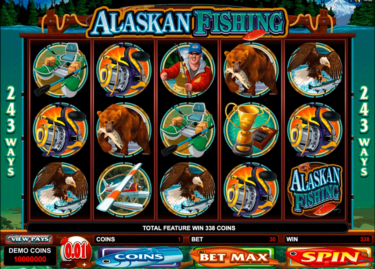alaskan fishing microgaming online spielen