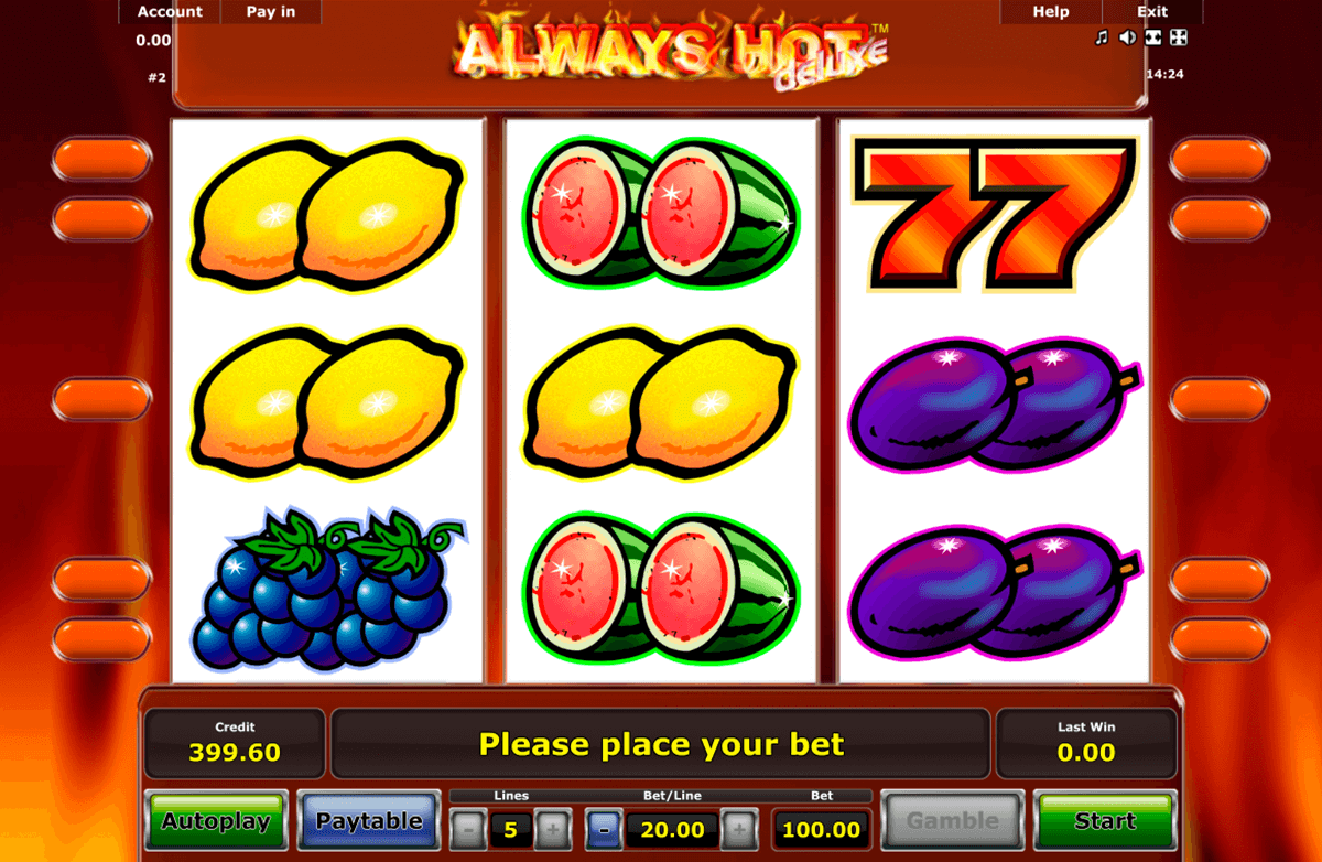 always hot novomatic online spielen