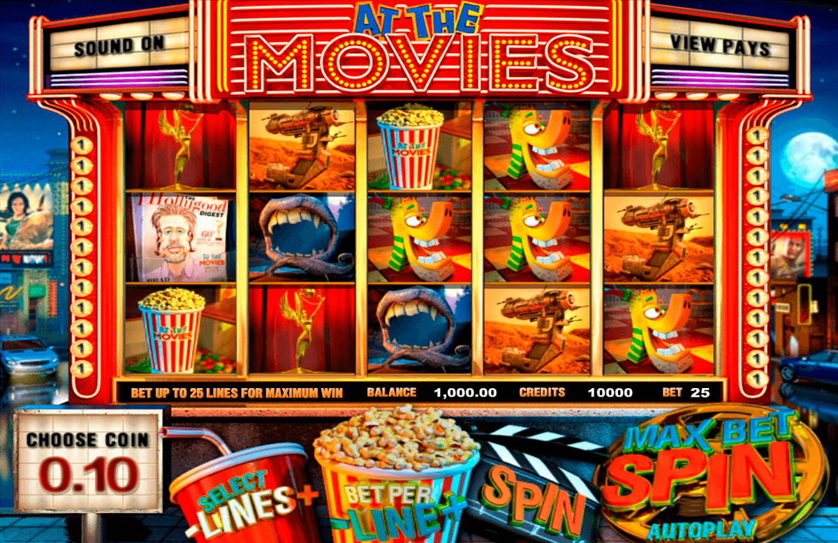 at the movies betsoft online spielen