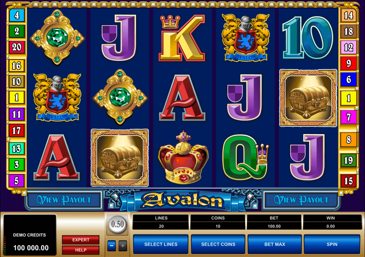 avalon microgaming online spielen