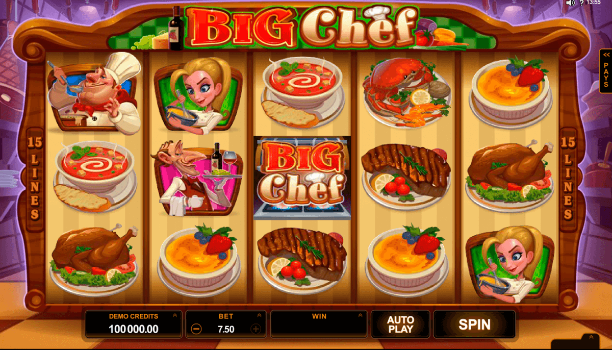 big chef microgaming