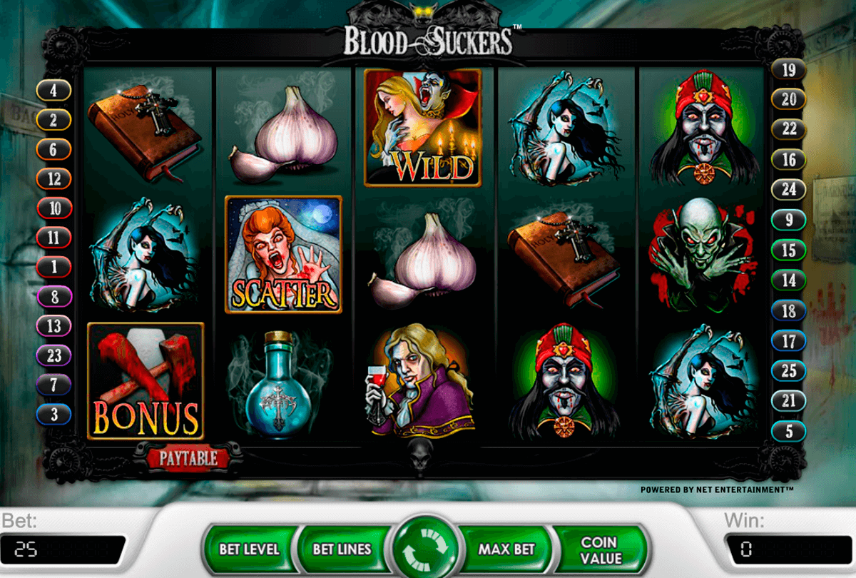 blood suckers netent online spielen