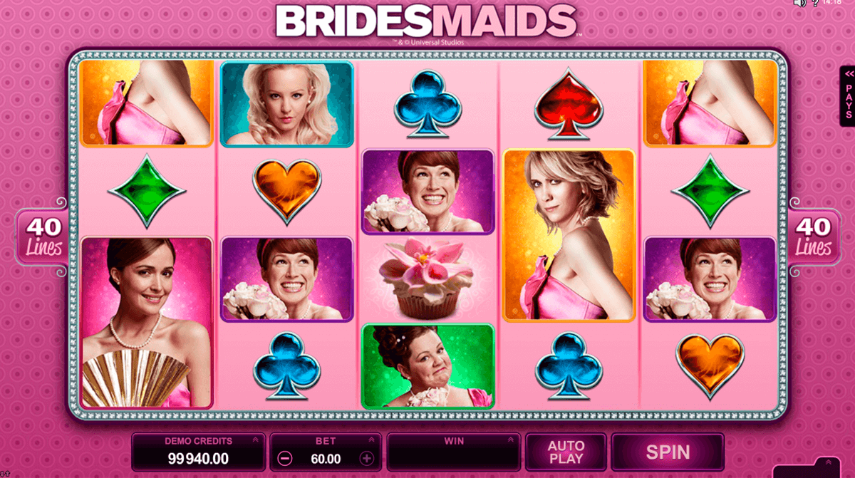 bridesmaids microgaming online spielen