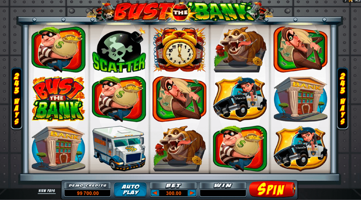 bust the bank microgaming online spielen
