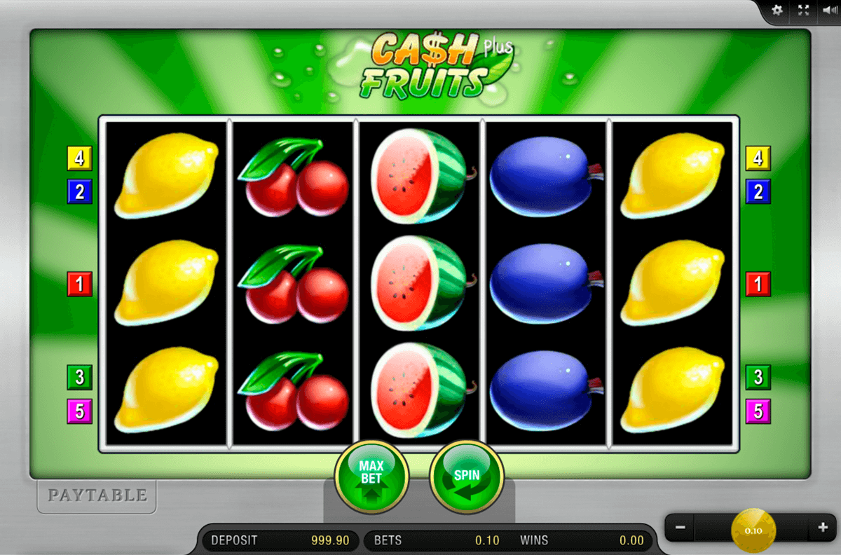 cash fruits plus merkur