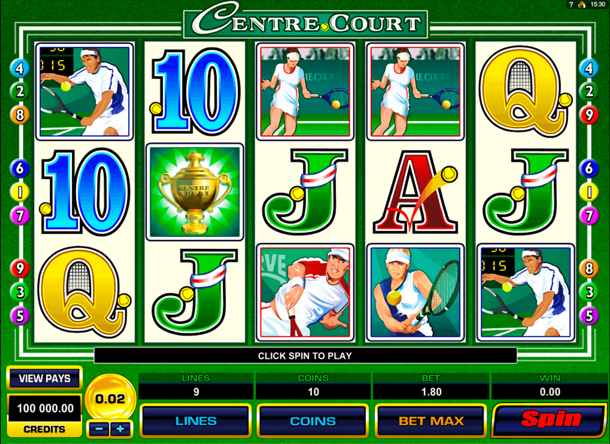 centre court microgaming online spielen