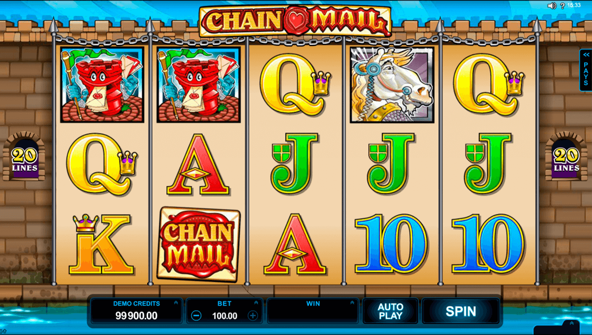 chain mail microgaming online spielen