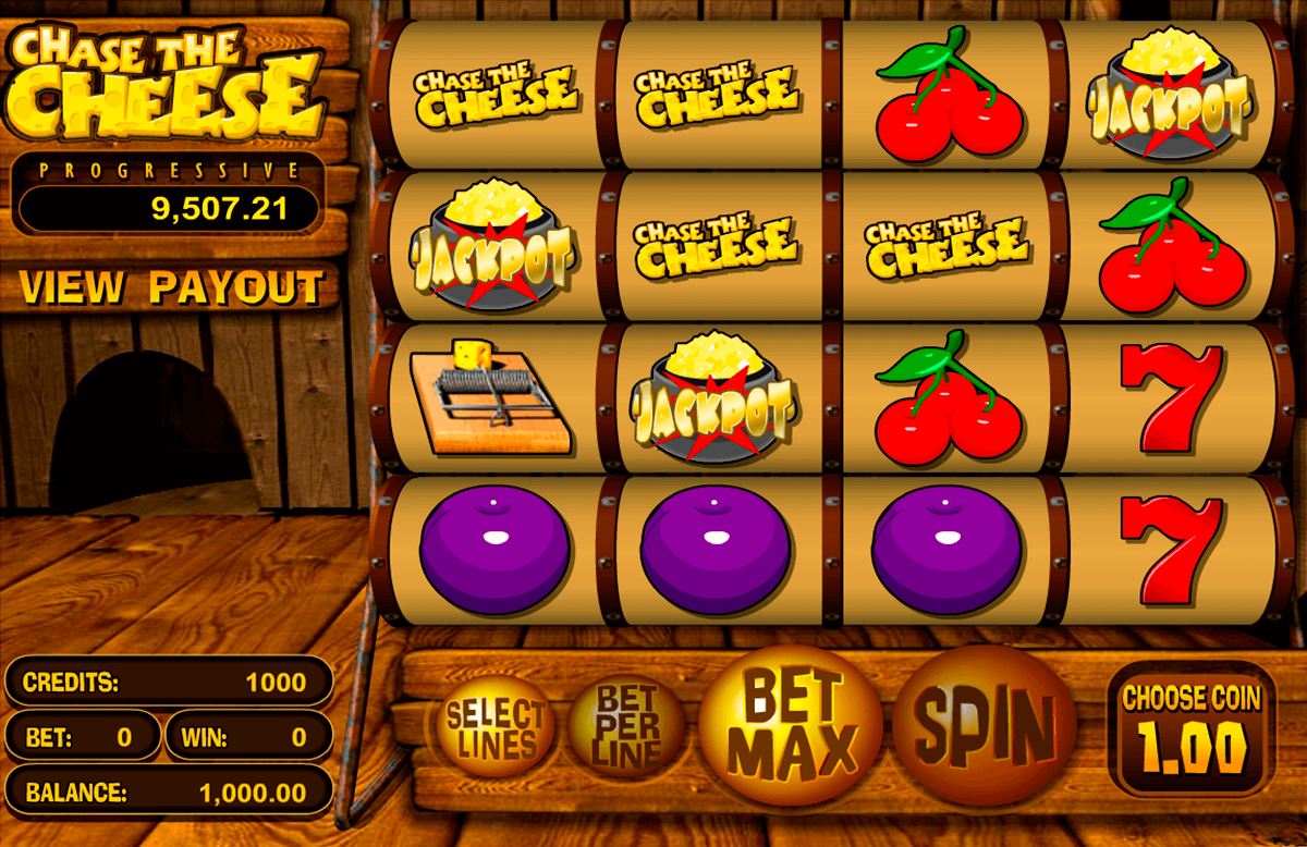 chase the cheese betsoft