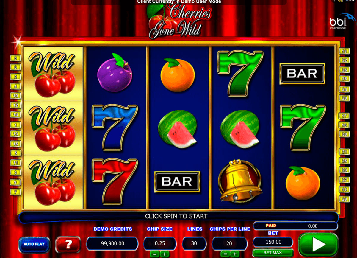 cherries gone wild microgaming