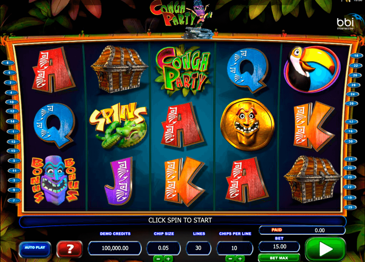 conga party microgaming online spielen