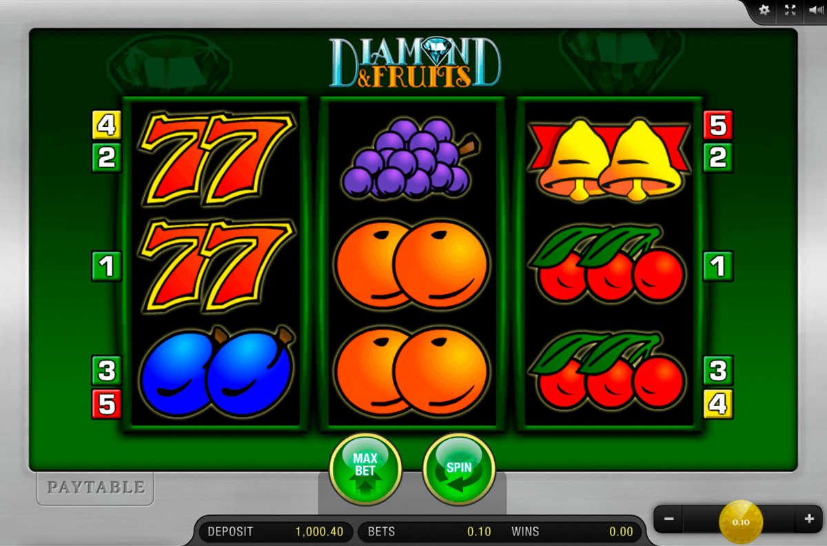 diamond and fruits merkur online spielen