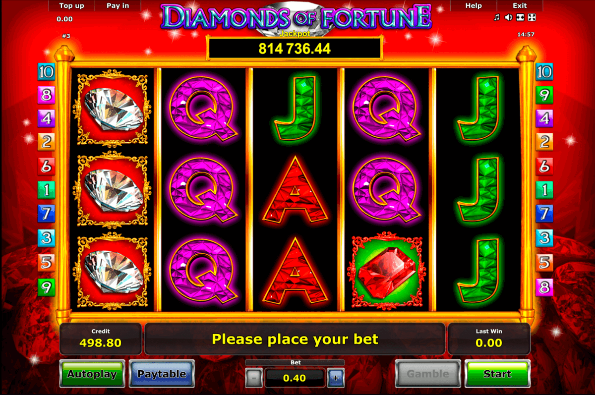 diamonds of fortune novomatic online spielen