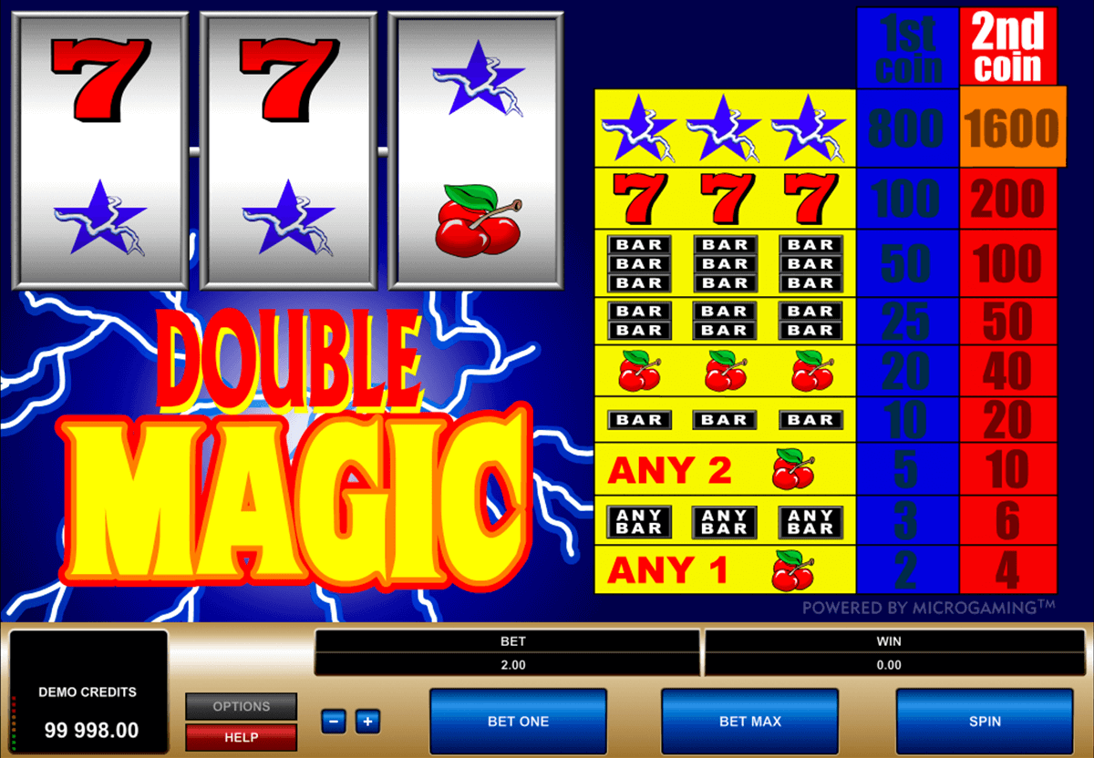 double magic microgaming online spielen