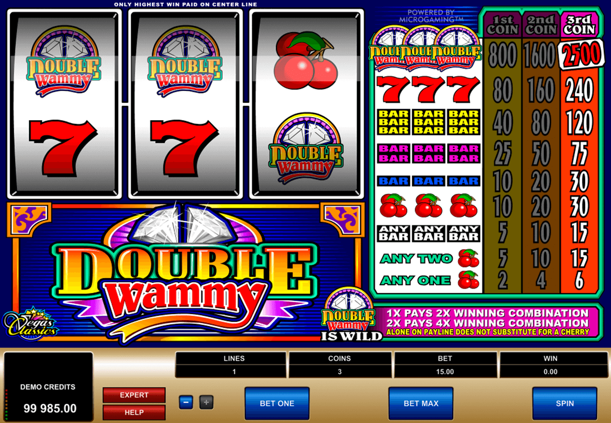double wammy microgaming online spielen