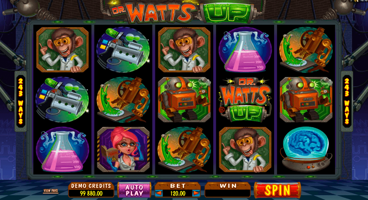 dr watts up microgaming online spielen
