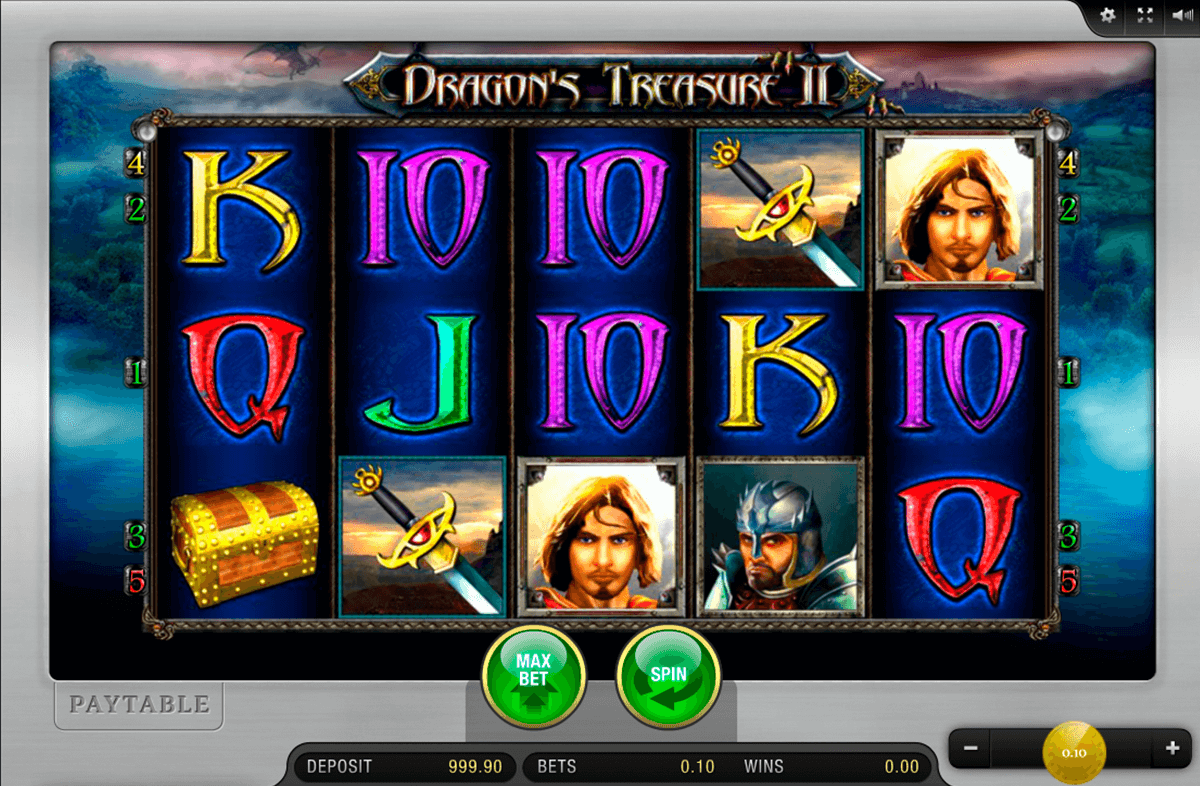 dragons treasure ii merkur online spielen