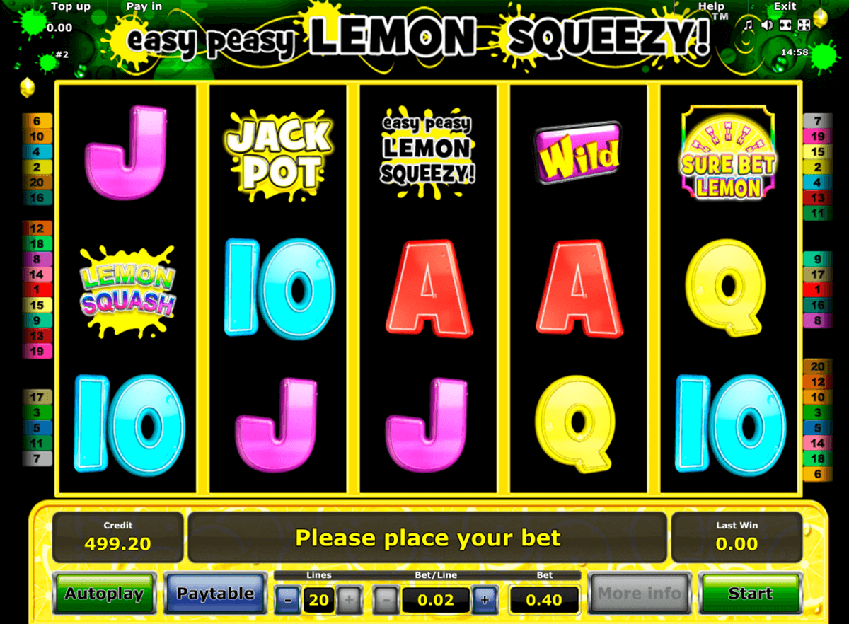 easy peasy lemon squeezy novomatic online spielen