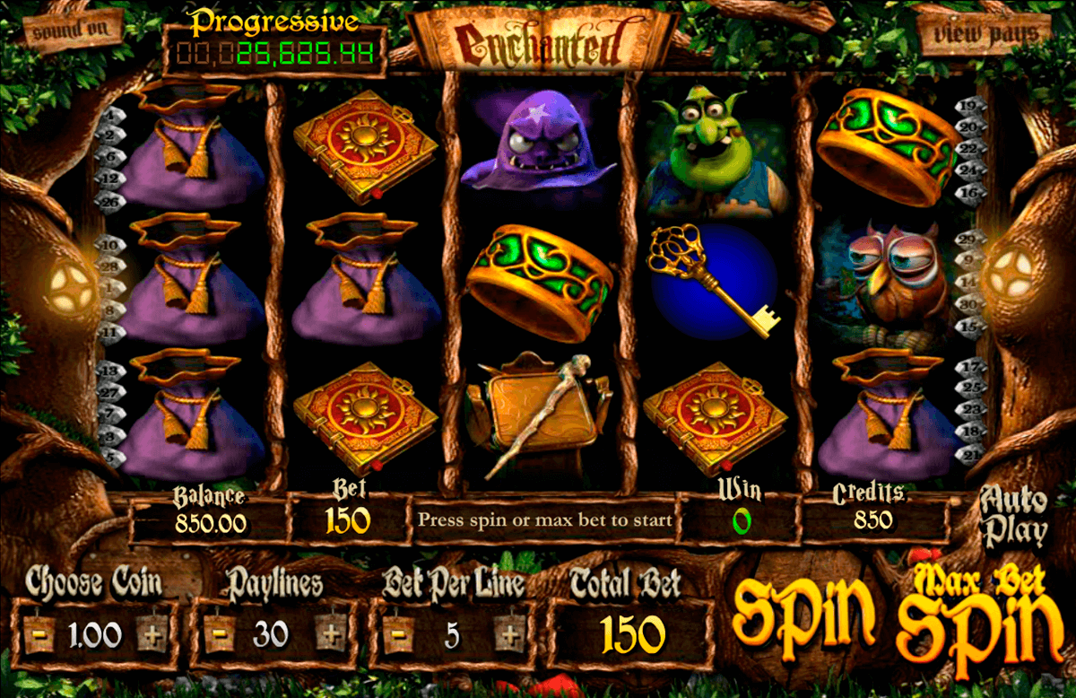 enchanted betsoft online spielen