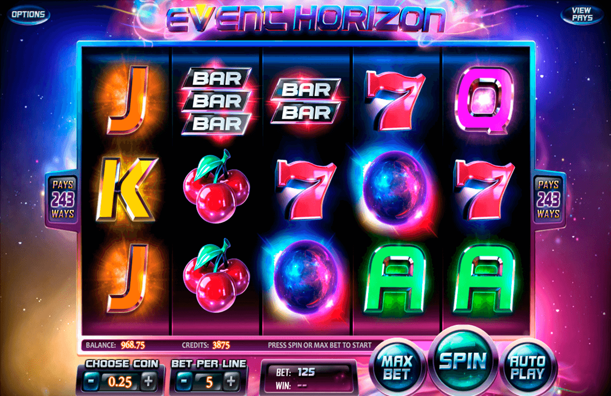 event horizon betsoft online spielen