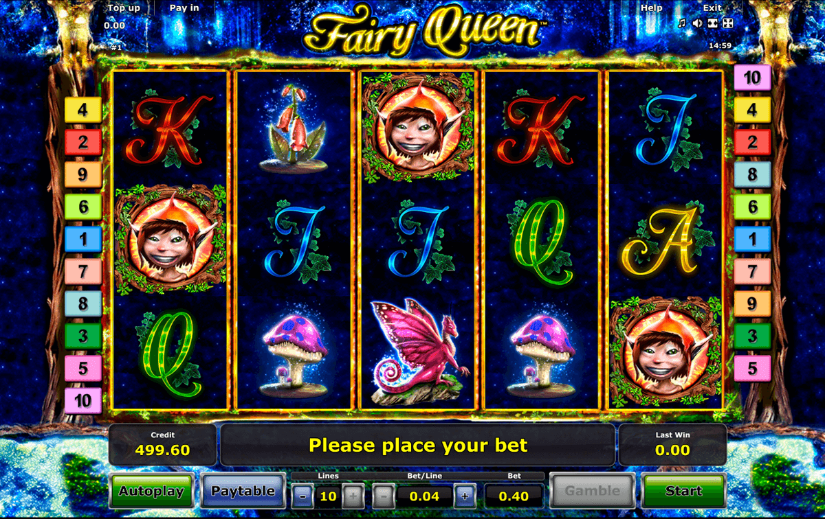 fairy queen novomatic online spielen