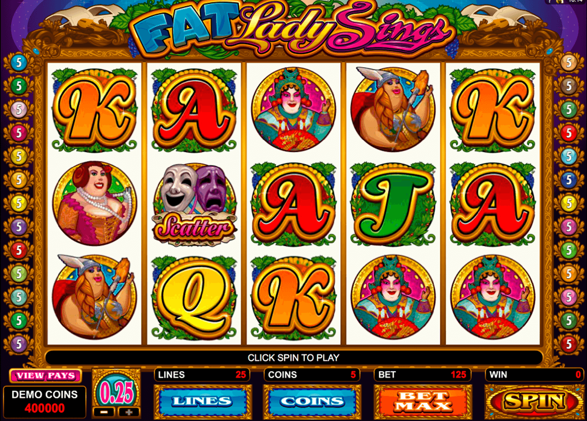 fat lady sings microgaming online spielen