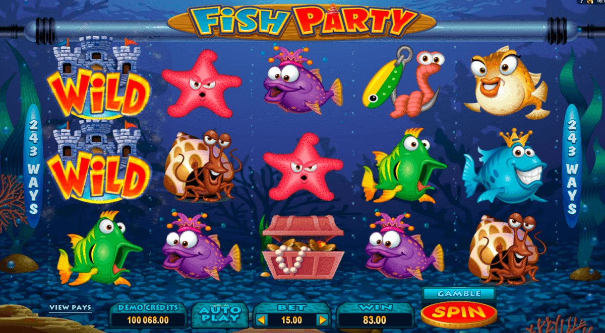 fish party microgaming online spielen
