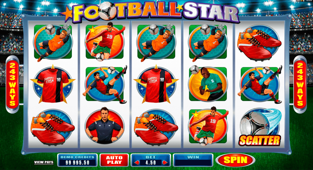 football star microgaming online spielen
