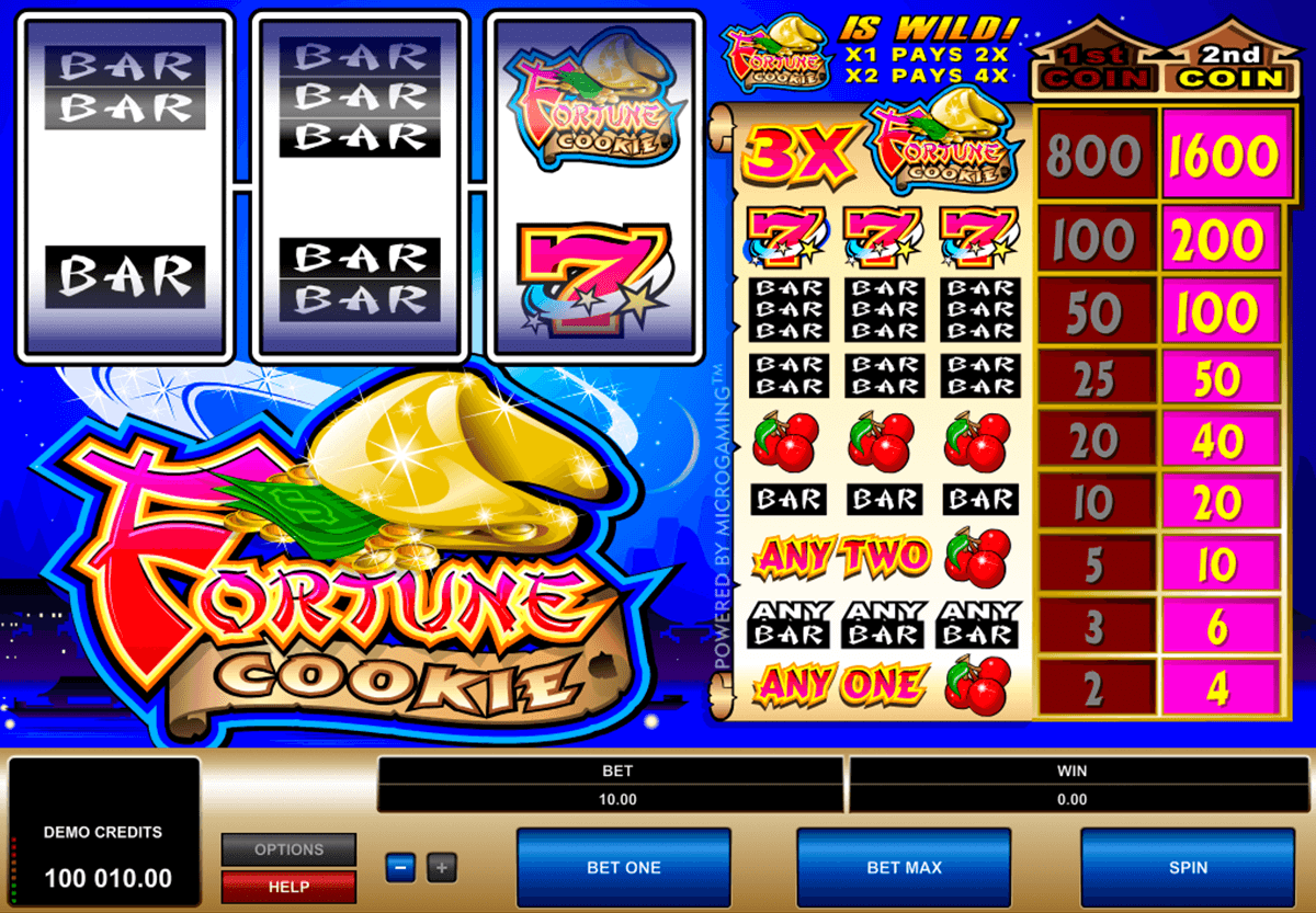 fortune cookie microgaming online spielen