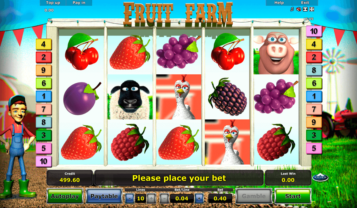 fruit farm novomatic online spielen