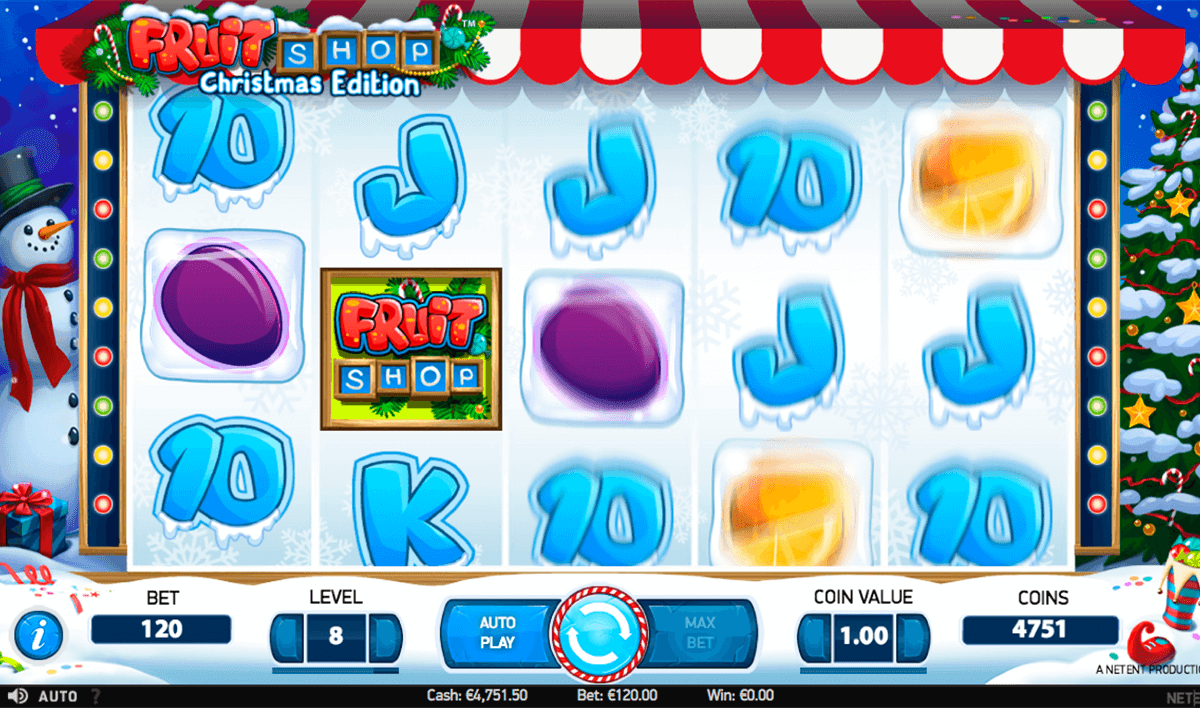 Spiele Fruit Shop Christmas Edition - Video Slots Online