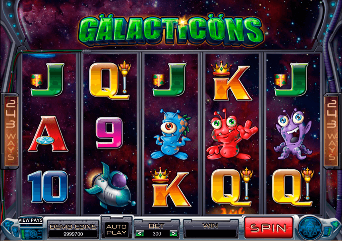 galacticons microgaming online spielen