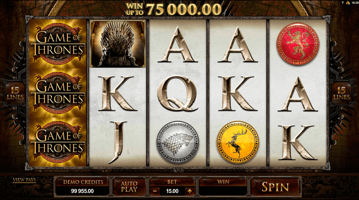 game of thrones 15 lines microgaming online spielen