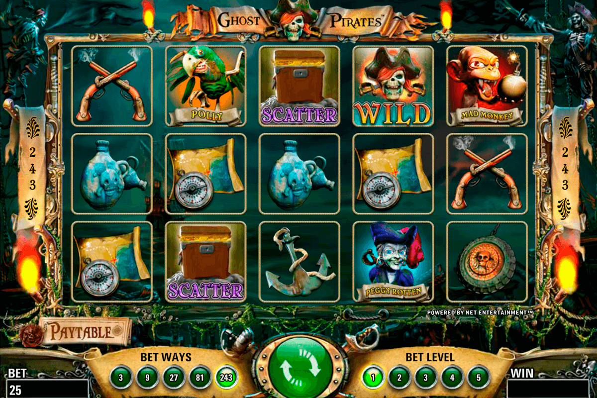 ghost pirates netent online spielen