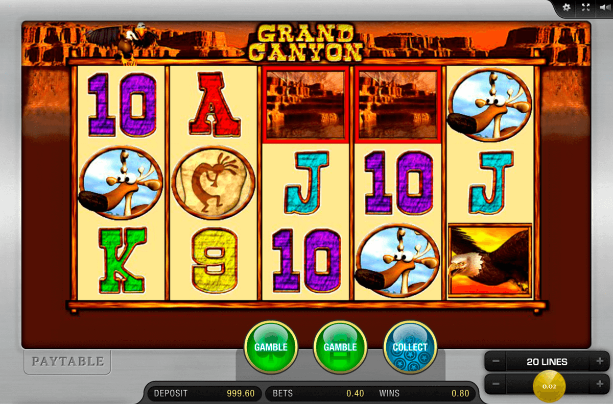 grand canyon merkur online spielen