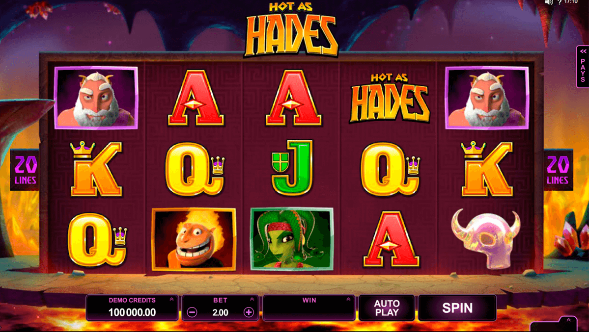 hot as hades microgaming online spielen