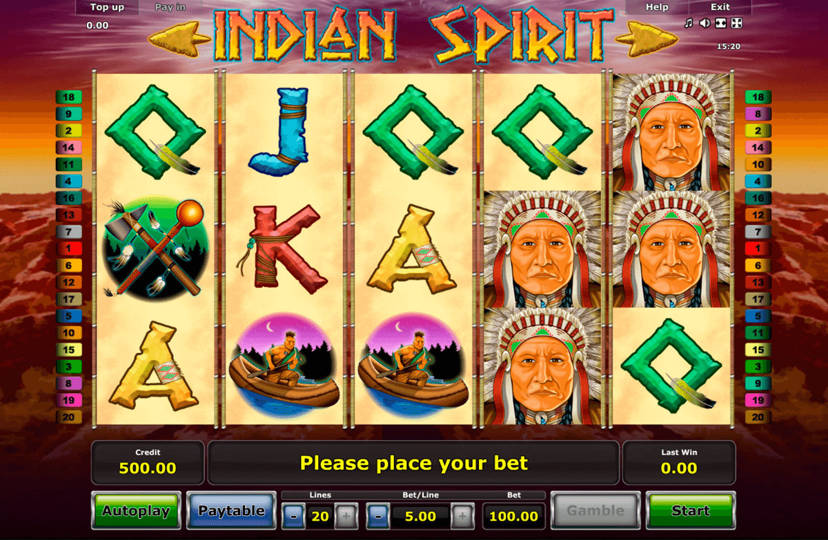 indian spirit novomatic online spielen