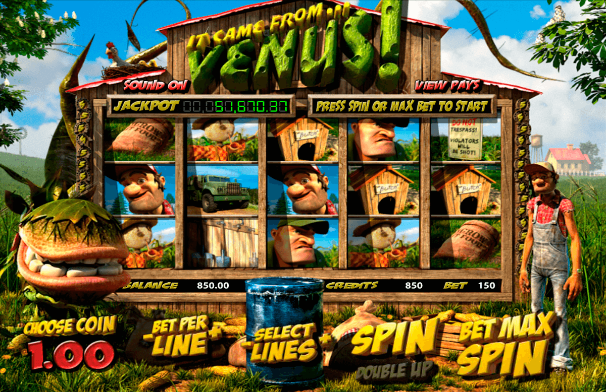 it came from venus betsoft online spielen