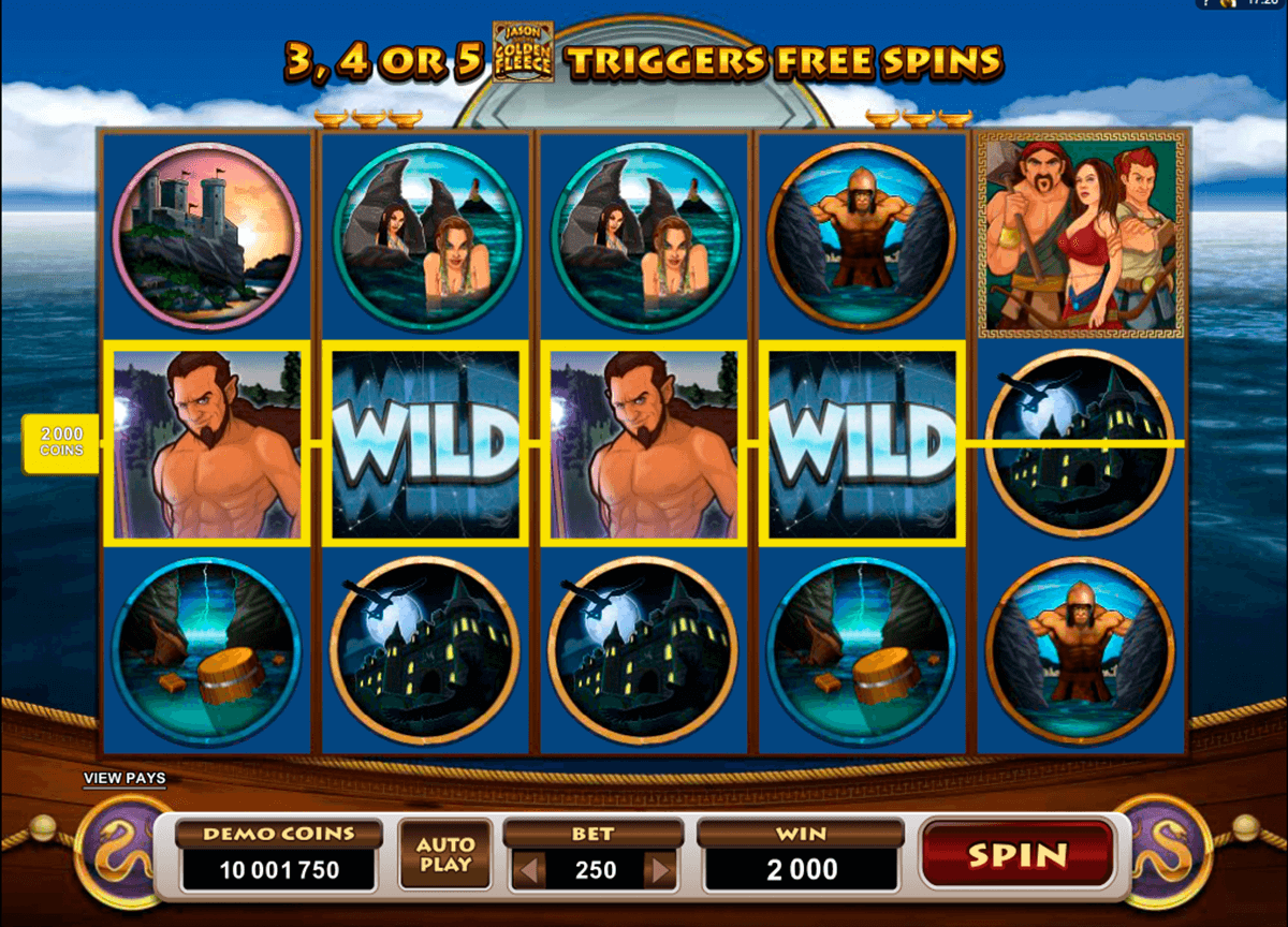 jason and the golden fleece microgaming online spielen