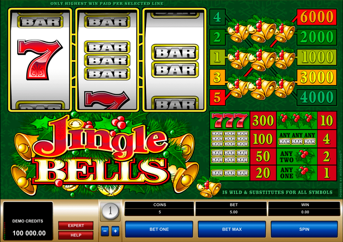 jingle bells microgaming online spielen