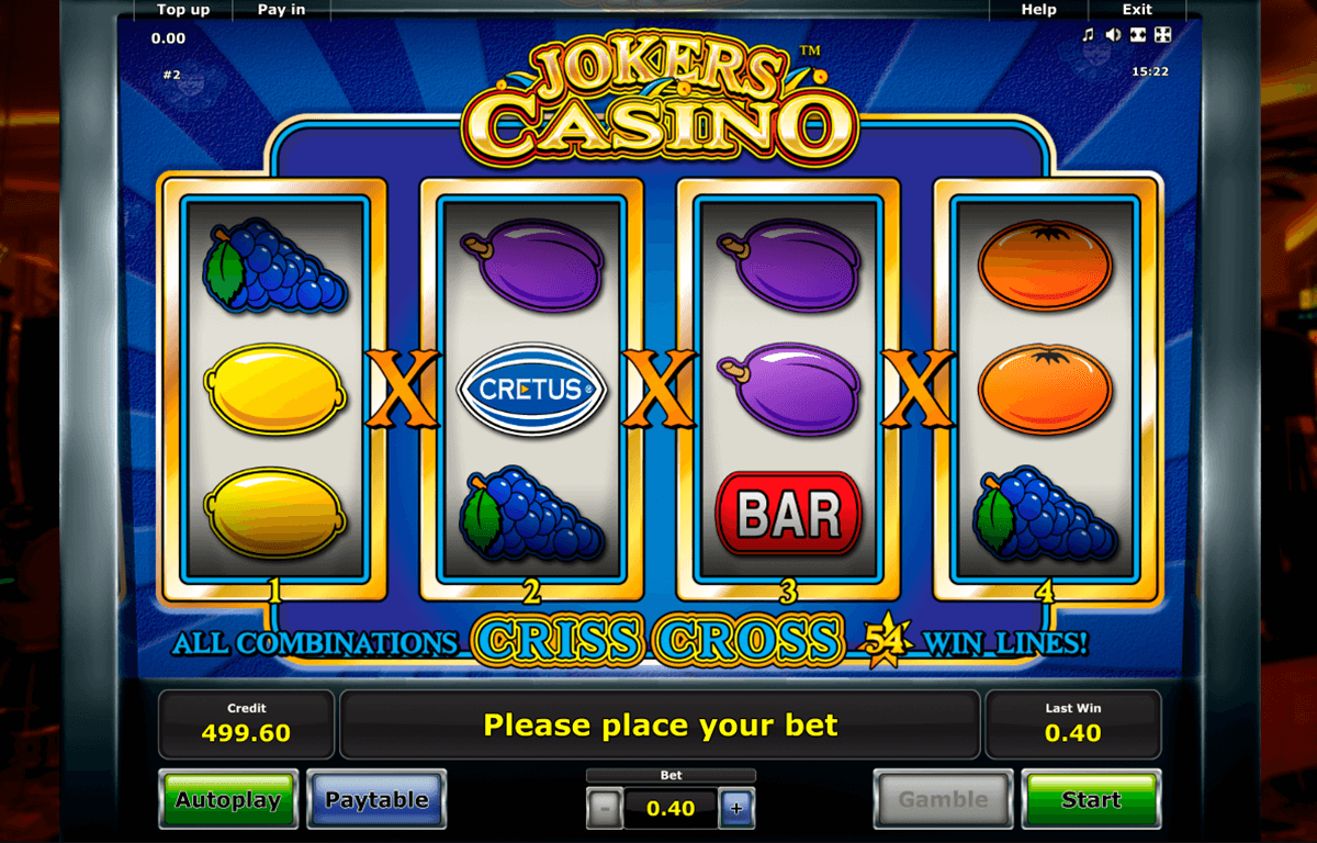 jokers casino novomatic