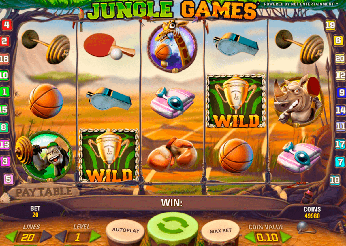 jungle games netent online spielen