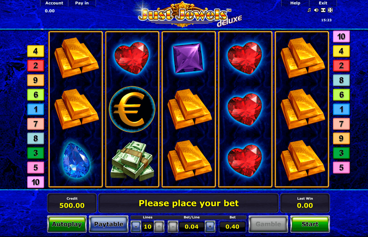 just jewels deluxe novomatic online spielen