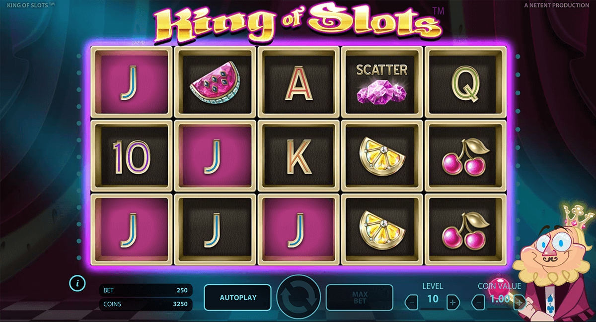 king of slots netent online spielen