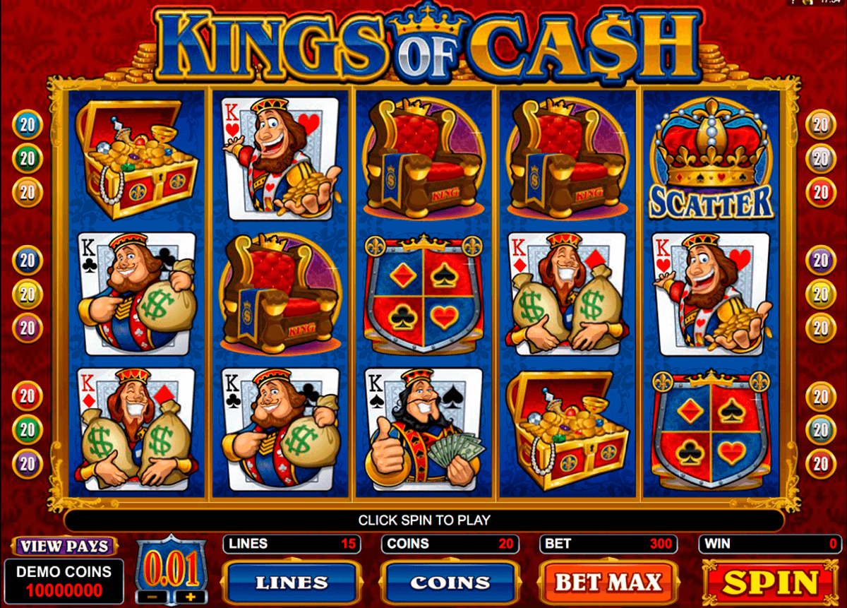 kings of cash microgaming online spielen