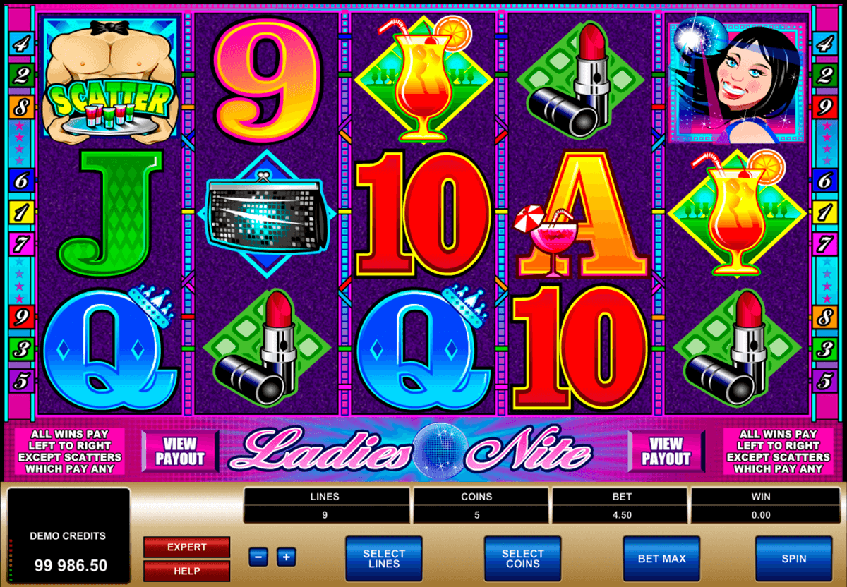 ladies nite microgaming online spielen