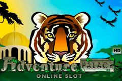 logo adventure palace microgaming casino spielautomat