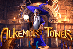 logo alkemors tower betsoft casino spielautomat